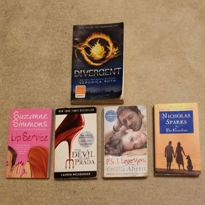 Various Books (5 for $25 or $6 each!)